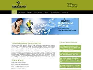 Telecom Boradband Website