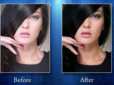 Color Corrections & Retouching