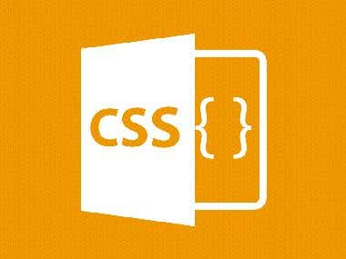 CSS project with CSS 3