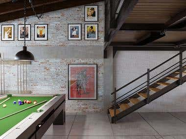 Interior Design - Man Cave