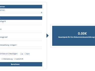 WordPress - Revenue Calculator Plugin