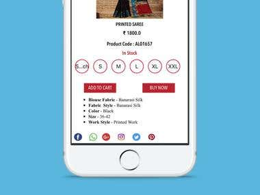 iOS Application For Online Shopping