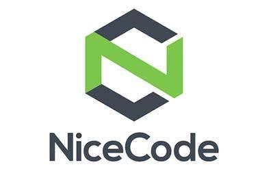 Nice Code Logo Design
