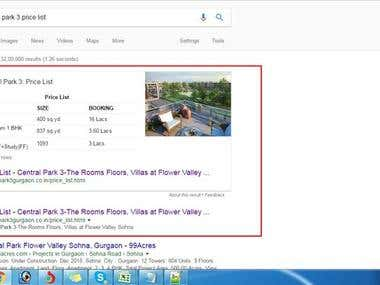 Real State Website SEO on #1 Rank on Google