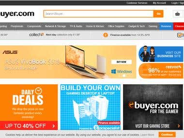 The Renown UK Ecommerce Site Ebuyer.com