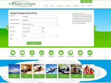 Price Comparision website