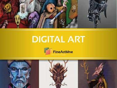 Digital Art Illustration -CLICK for more-