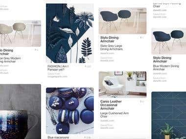 Pinterest Portfolio Management