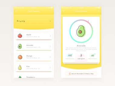 Weight Lose, Calorie Tracking App