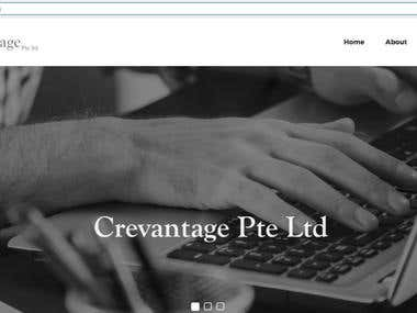 cregvantage.sg : professional wordpress website