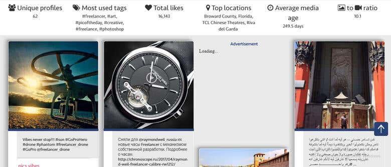 Multpix An Advanced Instagram Search Engine | Freelancer