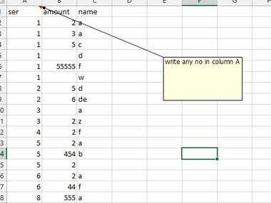 Excel sheet Auto sort using VB