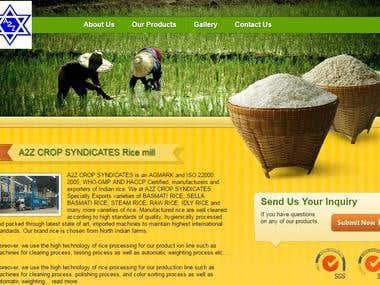 Rice MIll INdustry Website