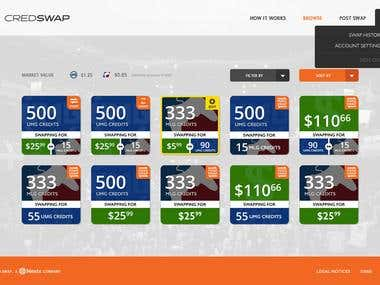 Credswap - Currency Conversion Website