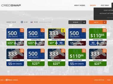 Credswap - Currency Conversion Website