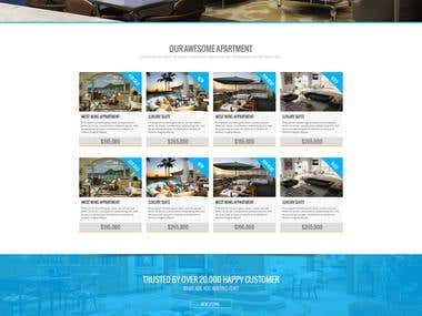 Apartment Genie (Real Estate Website)