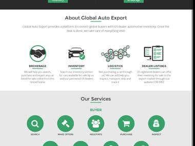 Global Auto Export (Ecommerce Global Market)