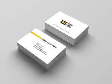 Business card World Steel Trade