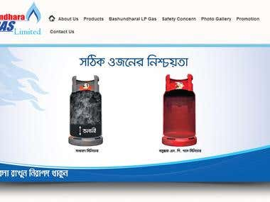 Bashundhara LPG Website
