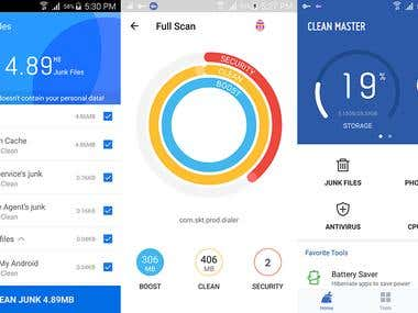 Utility Cleaner App