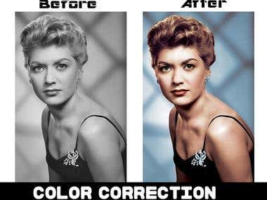 Photo Restore & color correction..