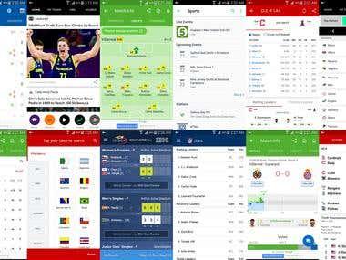Fantasy Sport Apps