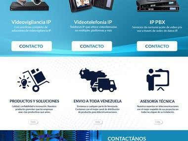 Diseño Grafico de sitio WEB | Asintel | Telecomunicaciones