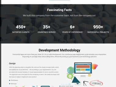 SEO Web Copy - Android, iOS, HTML5, PHP, WordPress, CRM