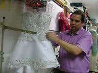 Vestido con Leds Sincronizados al Ritmo de la música Diamond