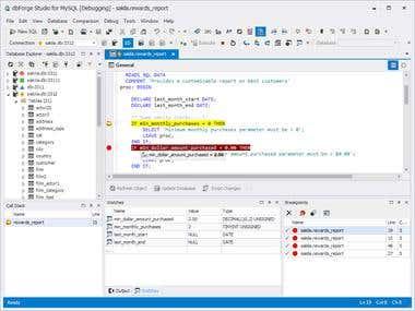 MySQL Work