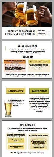 Diapositivas exposición de CERVEZA
