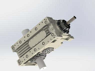 Solidworks - Motor Drive