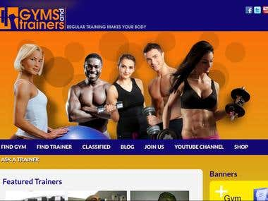 Graphics and Web Design - Gyms and Trainers