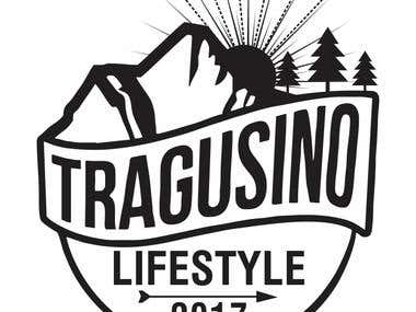 Tragosino Logo and T-shirt design