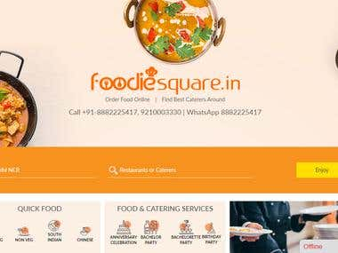 Food Website and Caterer Lisitng Too