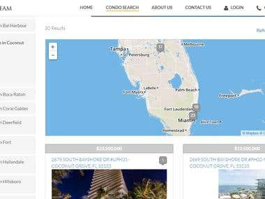 Real Estate Website - TheLuxuryTeam