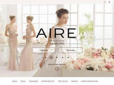 Wedding dress Website