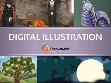 Digital illustration -CLICK for more-