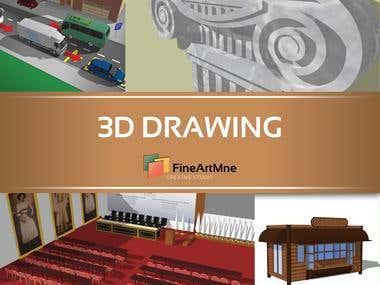 3D Drawing -CLICK for more-