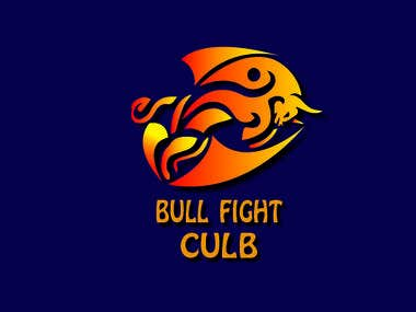 logo for bull fight club