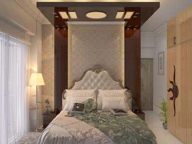 Interior Design Master Bed