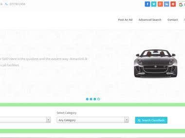 Classified Website Using Codeigniter