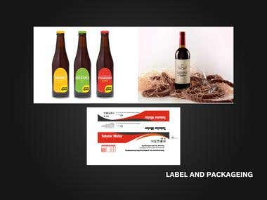 Packaging and Label Designs