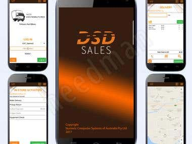 Delivery and Sales App