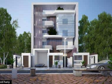 Modern villa in new Cairo