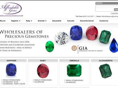 Sell Product to vendors https://www.affordablegemsny.com/