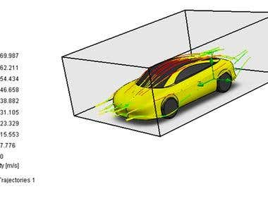 TUNEL OF WIND BY SOLIDWORKS