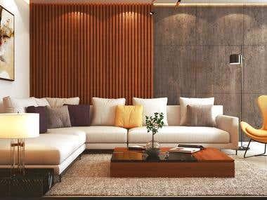 Apartment II Design & Visualization