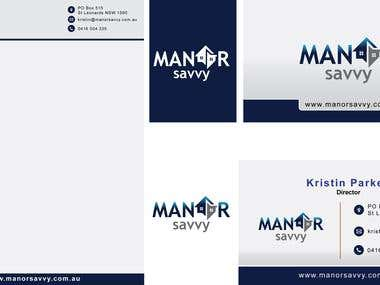Logo and Business card Letterhead