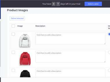 Bigcommerce Product listing with html description